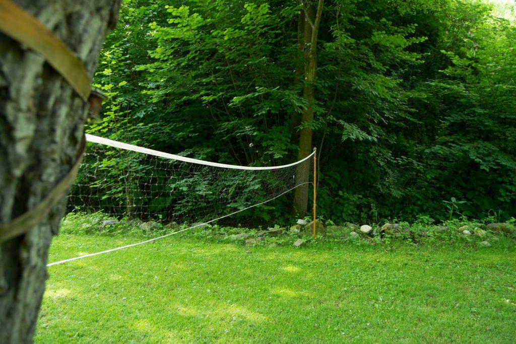 Badminton na pikniku